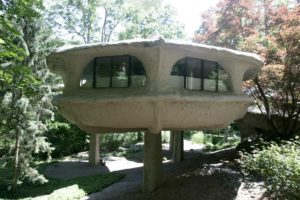 mushroom house, unique homes